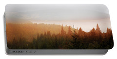 Through The Mist Portable Battery Charger