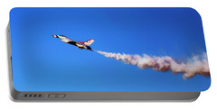 Thunderbird 5 High Alpha Pass - Air Force - Usaf F-16 Portable Battery Charger