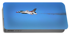 Thunderbird 6 Flying Low - Air Force Thunderbirds - Usaf F-16 Portable Battery Charger