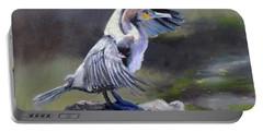 Tiber River Cormorant Portable Battery Charger