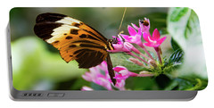 Tiger Longwing Butterfly Drinking Nectar  Portable Battery Charger