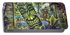 Tiki Genie's Sacred Pools Portable Battery Charger