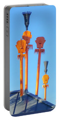Tiki Palm Springs Portable Battery Charger