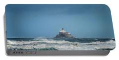 Tillamook Rock Lighthouse Near Cannon Beach Portable Battery Charger