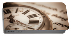 Time And Words Portable Battery Charger