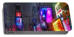 Times Square - The Light Fantastic 2016 Portable Battery Charger