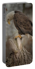 Tired Eagle Dad  Portable Battery Charger