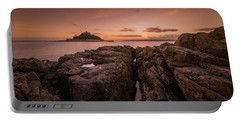 To The Sunset - Marazion Cornwall Portable Battery Charger