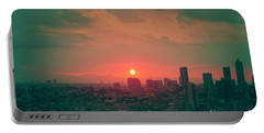Tokyo Japan Sunset Portable Battery Charger