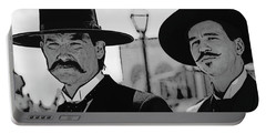 Tombstone Earp Holliday Portable Battery Charger