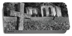 Tombstone, St. Chad's, Trinidad Portable Battery Charger