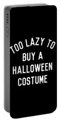 Too Lazy To Buy A Halloween Costume Portable Battery Charger