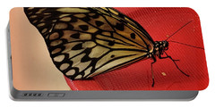 Torn Butterfly Portable Battery Charger