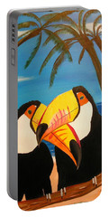 Toucan Love Portable Battery Charger