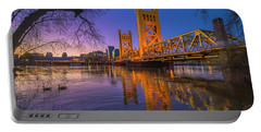 Tower Bridge At Sunrise - 4 Portable Battery Charger