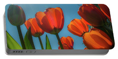 Towering Tulips Portable Battery Charger