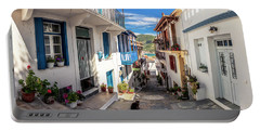 Town Of Skopelos Portable Battery Charger