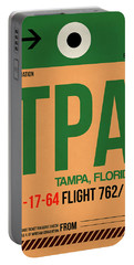 Tpa Tampa Luggage Tag I Portable Battery Charger