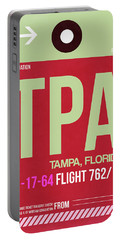 Tpa Tampa Luggage Tag II Portable Battery Charger