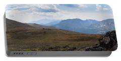 Portable Battery Charger featuring the photograph Trail Ridge Road Arctic Panorama by Nicole Lloyd