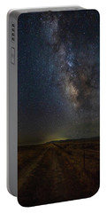 Portable Battery Charger featuring the photograph Trails End by Tim Bryan