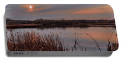 Tranquil Sunset Portable Battery Charger