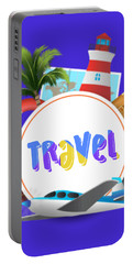 Travel World Portable Battery Charger