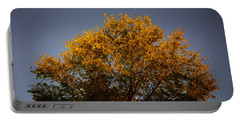 Tree And Stars Wide Portable Battery Charger