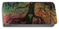 Tree Of Life Chakra Tree Portable Battery Charger