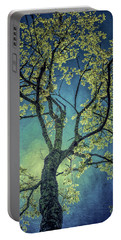 Portable Battery Charger featuring the photograph Tree Tops 0945 by Donald Brown