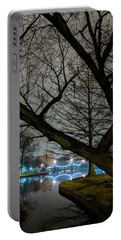 Trees And Lights Portable Battery Charger