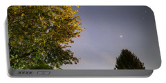 Trees And Stars Portable Battery Charger