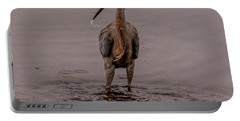 Tri Colored Heron Portable Battery Charger