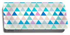 Triangle Abstract Background- Efg206 Portable Battery Charger