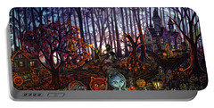 Trick Or Treat Sleepy Hollow Portable Battery Charger