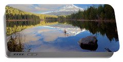 Trillium Lake Morning Reflections Portable Battery Charger