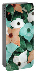 Tropical Dogwood Flowers Portable Battery Charger