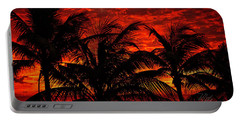Tropical Sunrise Portable Battery Charger