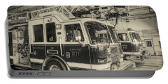 Truck And Engine 211 Portable Battery Charger