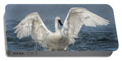 Trumpeter Swan Splash Portable Battery Charger