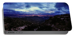 Tucson Twilight Panorama Portable Battery Charger