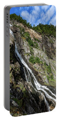 Portable Battery Charger featuring the photograph Tuftefossen, Norway by Andreas Levi