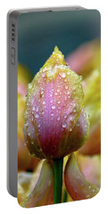 Tulips In The Rain Portable Battery Charger
