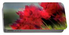 Tulips In The Wind Portable Battery Charger
