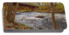 Turbulent River Bridge Portable Battery Charger