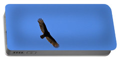 Turkey Vulture Soaring Portable Battery Charger