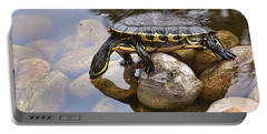 Turtle Drinking Water Portable Battery Charger