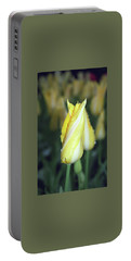 Twisted Yellow Tulip Portable Battery Charger