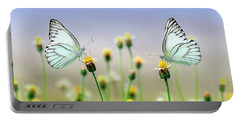 Two Butterflies Portable Battery Charger