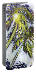 Two Palm Sketch Portable Battery Charger